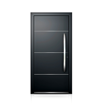 Aluminium Door AT410 - Picture: Internorm