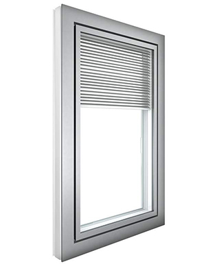 With Integrated Blinds