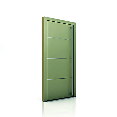 Timber/Alum Door HT410 - Picture: Internorm